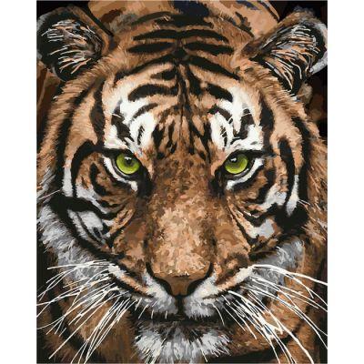 Роспись по номерам Величественный тигр