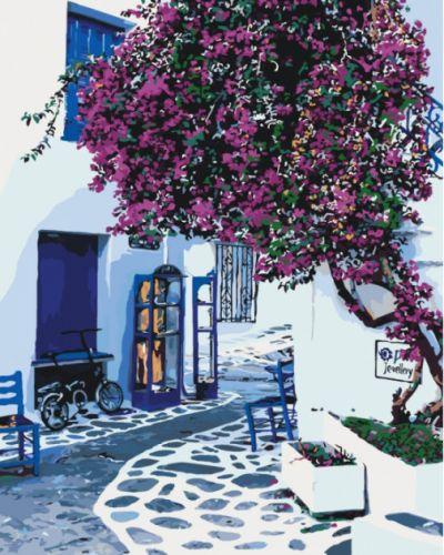 Роспись по номерам Солнечная Греция