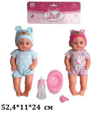 Кукла - пупс моргает, горшок