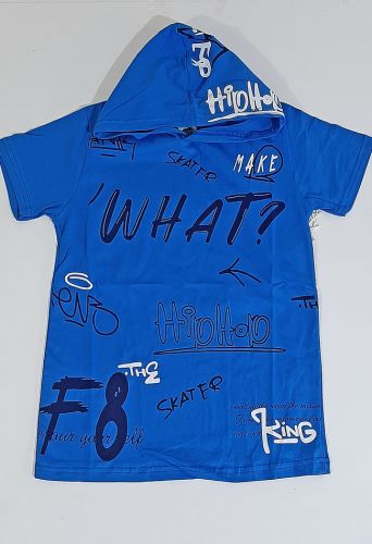 Футболка Hip-Hop Голубой