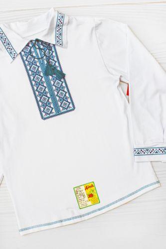 Сорочка вышиванка длинный рукав Белый