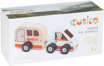 Деревянная игрушка Дом на колесах
