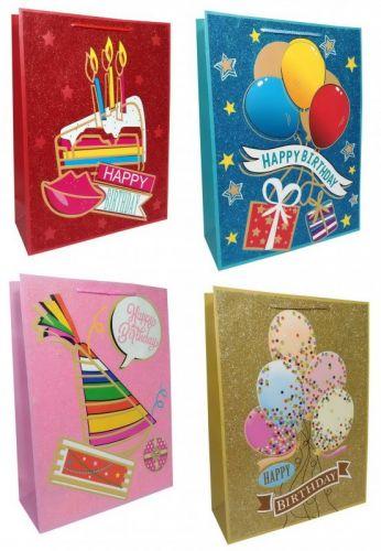 Пакет картон Happy Birthday