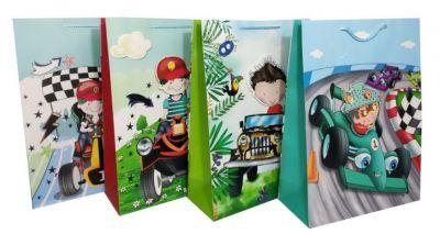 Пакет картон Весёлые гонки