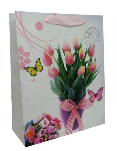Пакет картон Весенний тюльпан