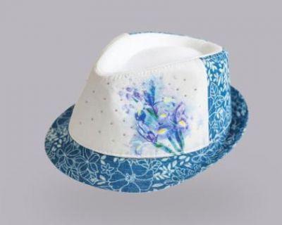 Шляпка Tutu цветок Микс