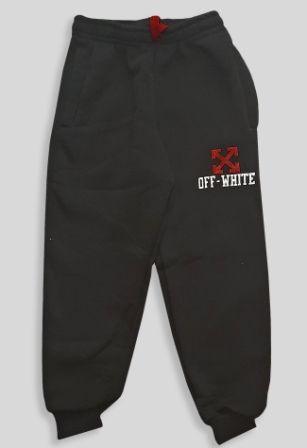 Спортивные брюки с начесом Черный