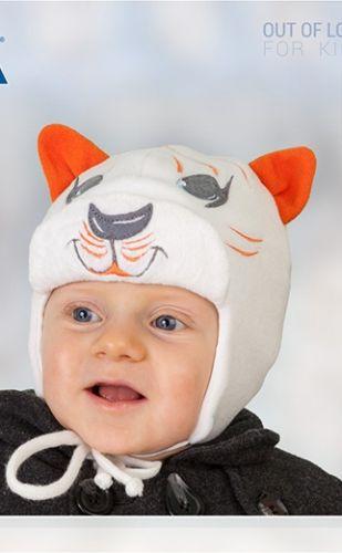 Шапка зимняя Tutu Тигр Микс