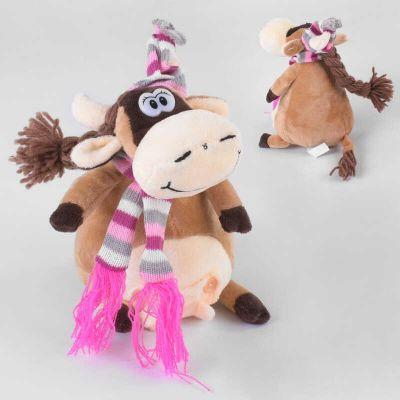 Мягкая игрушка Корова 19см