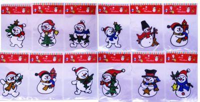 Наклейка Снеговик
