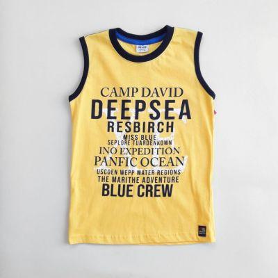 Майка Deep sea Желтый