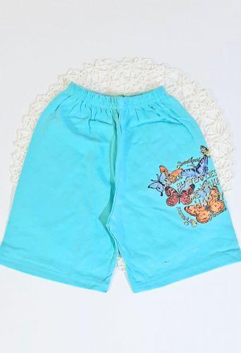 Шорты Бабочки Голубой