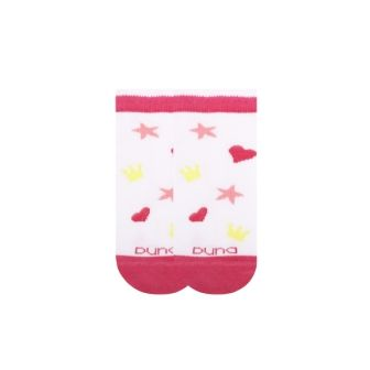 Носки для девочки короткие сетка р14 Белый