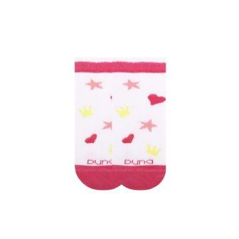 Носки для девочки короткие сетка р16 Белый