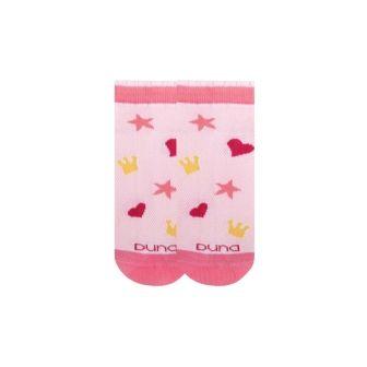 Носки детские короткие сетка р16 Розовый