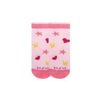 Носки детские короткие сеточка р18 Розовый