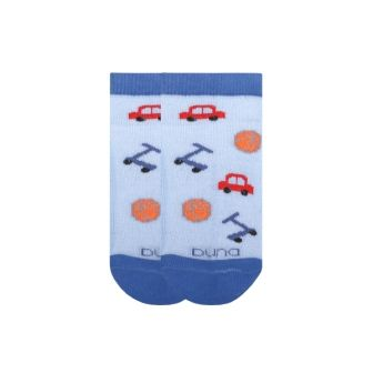 Носки для мальчика сетка р18 Голубой
