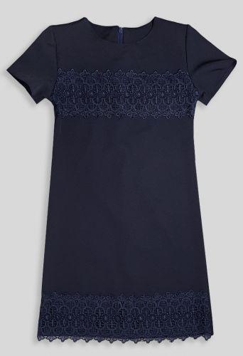 Платье Кружево Синий