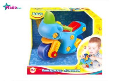 Детская игрушка конструктор Мотоцикл, 57082
