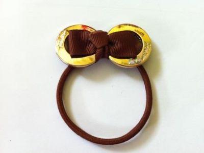 Резинка два кольца Фэшн 1 шт Микс