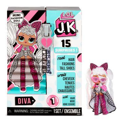 Игровой набор с куклой LOL SURPRISE серии JK ДЕВА