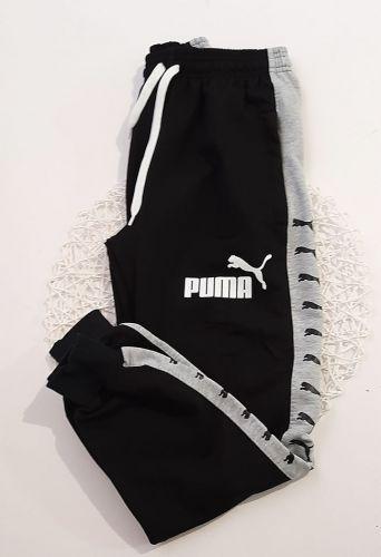 Спортивные брюки молния, манжет Черный