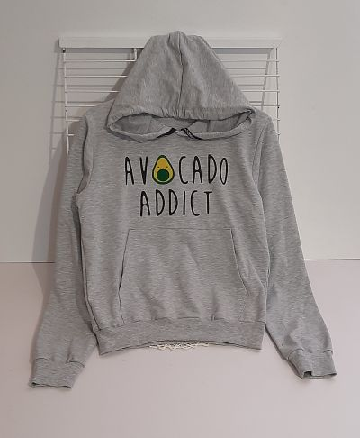 Свитшот Авокадо Серый