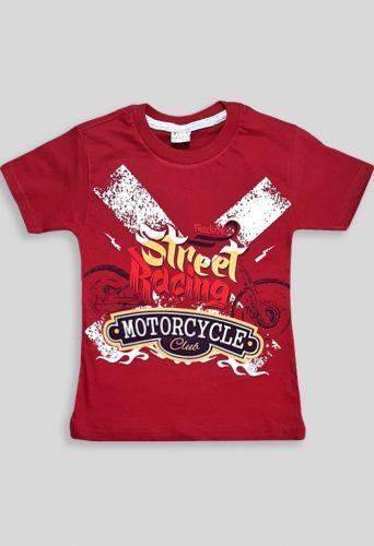 Футболка Motorcycle Бордовый