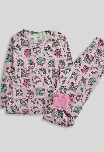Пижама Совушка Розовый
