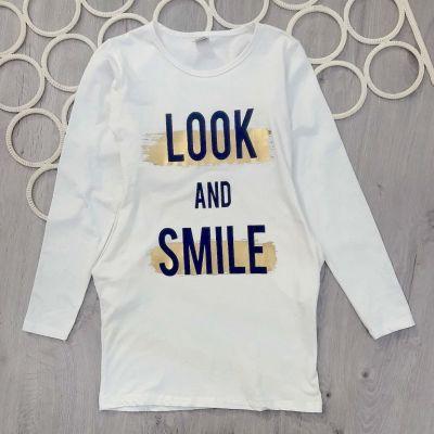 Платье туника LOOK and smile Розовый