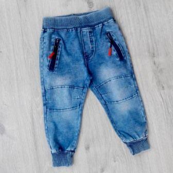 Джинсы брюки Jeans6, трикотаж Деним светлый