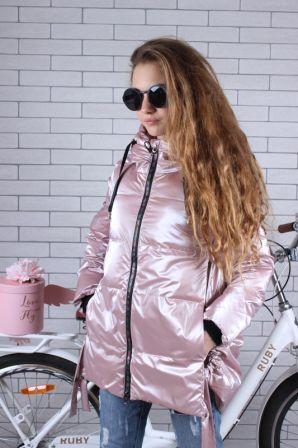 Куртка демисезонная Зефирка Светло-розовый