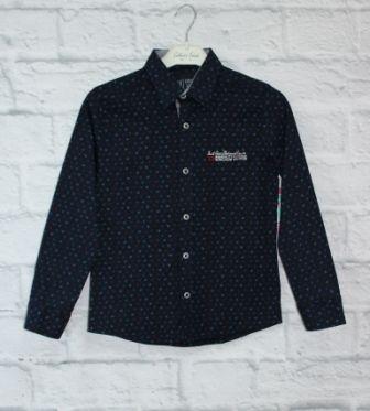Рубашка Dk Синий темный