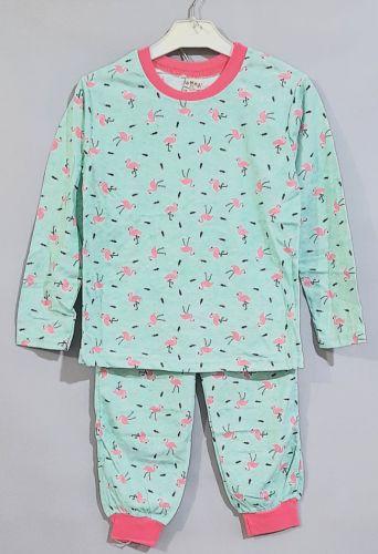 Пижама Фламинго Мята