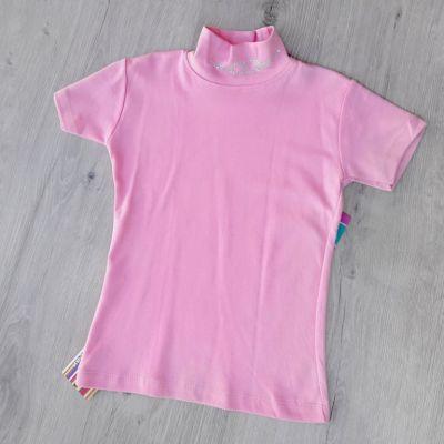 Гольф короткий рукав Камешки Розовый