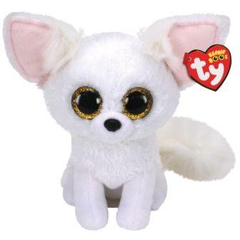Мягкая игрушка TY Beanie Boos  Белая лиса FENNEC