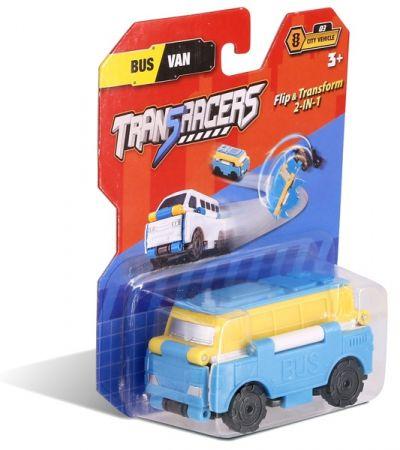 TransRacers машинка 2 в 1 Автобус Микроавтобус