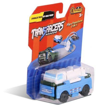 TransRacers машинка 2 в 1 Автоцистерна & Внедорожный пикап