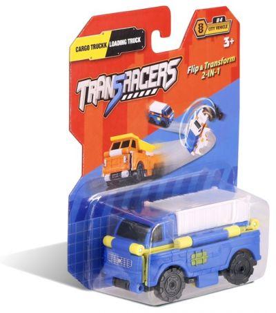 TransRacers машинка 2 в 1 Грузовик & Погрузчик