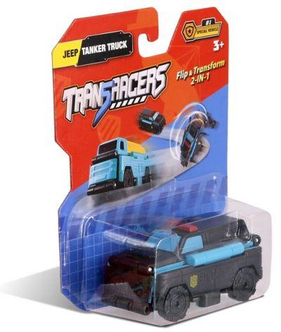 TransRacers машинка 2-в-1 Джип & Автоцистерна