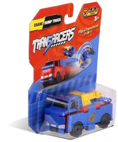 TransRacers машинка 2 в 1 Кран & Самосвал