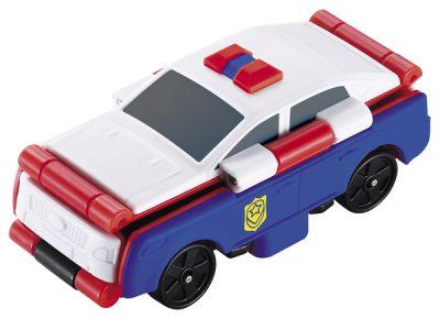TransRacers машинка 2 в 1 Полицейская машина & спорткар