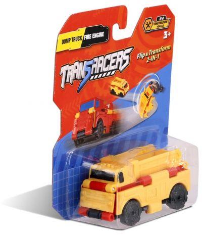 TransRacers машинка 2-в-1 Самосвал & Пожарная машина