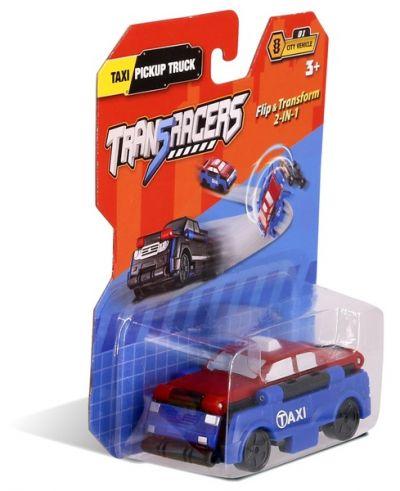 TransRacers машинка 2 в 1 Такси & Пикап