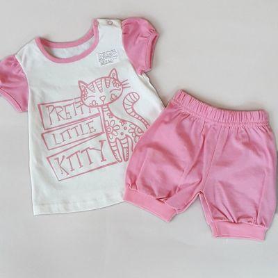 Комплект Маленькая кошечка Розовый