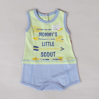 Боди песочник Mommy's little scout Салатовый
