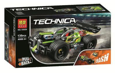 Конструктор TECHNIC Зеленый гоночный автомобиль