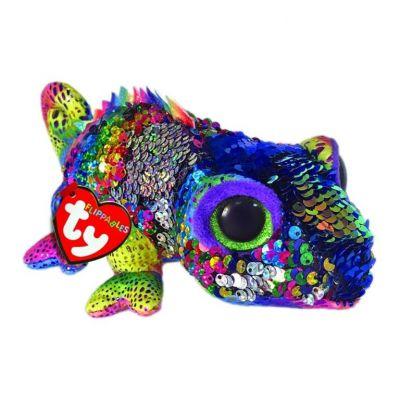 TY игрушка мягконабивная Хамелеон KARMA 25см