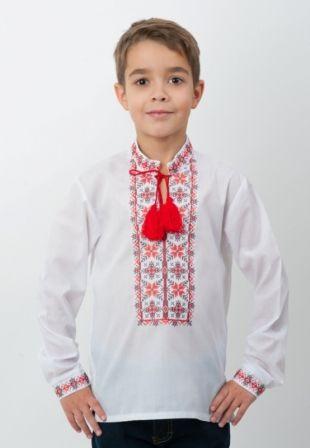 Сорочка вышиванка Звезды Белый