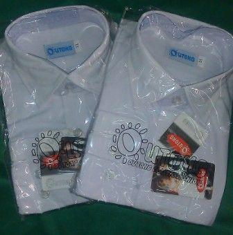 Рубашка ДР р.32 р.116-122 Белый